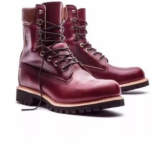 TIMBERLAND HORWEEN LEATHER 8 INCH WATERPROOF BOOTS